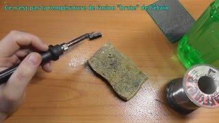 Download Tuto Soudure 01 - Les Bases et Nettoyage du Fer à Souder Video