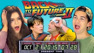Download Teens React to Back to the Future 2 (Marty McFly arriving on October 21st, 2015) Video