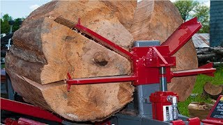 Download EXTREME Fastest Firewood Processing Machines, Largest Wood Cutting Chainsaw Machine Video