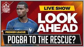 Download Pogba to Start! Man Utd vs Leicester LIVE Preview Video