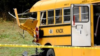 Download Two children, one adult killed in Tennessee school bus crash Video