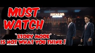 Download MADDEN 18 STORY MODE IS NOT WHAT YOU THINK!!! STORY MODE DETAILS!!! Video