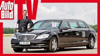 Download Mercedes S 600 Pullman Guard - Der teuerste Mercedes Video