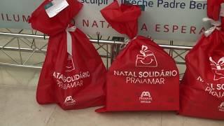 Download Ainda há tempo de retirar uma sacolinha do natal solidário do Praiamar Shopping Video