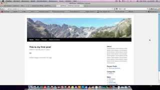 Download How to create a header slideshow in WordPress Video