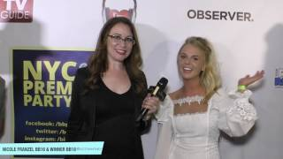Download CBS's Big Brother Alum On Big Brother 19 During NYC Premiere Party Victor Arroyo Nicole Franzel Video