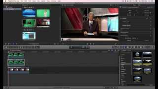 Download Final Cut Pro X Green Screen Virtual Set Tutorial Video