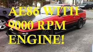 Download JDM Corolla AE86 Apex Sprinter Swap S2000 / F20c - Walkaround. Review. Info. Video