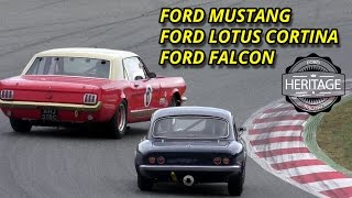 Download How To Drive Classic Cars - Ford Mustang vs Falcon vs Ford Cortina Video