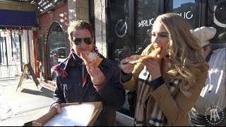 Download One Bite with Davey Pageviews - Garlic New York Pizza Bar featuring Antje Utgaard Video