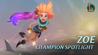 Download Zoe Champion Spotlight | Gameplay - League of Legends Video