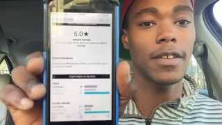 Download My Uber's weekly statement. 93% acceptance rating and 5 star driver Video