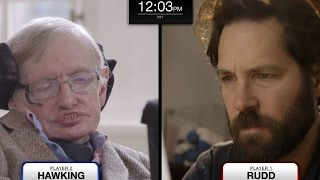 Download Stephen Hawking faces Paul Rudd in epic chess match (feat. Keanu Reeves) Video
