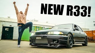 Download TAKING DELIVERY OF MY R33 SKYLINE FROM JAPAN!! Video