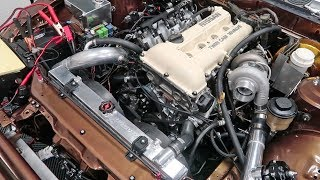 Download SR20DET RUNS! Then nearly destroys itself... Video