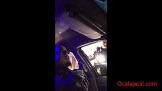 Download Dash cam: Firefighter takes control after being stopped by police [full length] Video