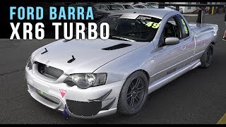 Download Time Attack Ford XR6 turbo Barra Ute Video