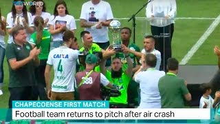 Download Chapecoenese First Match: Football team returns to pitch after air crash Video