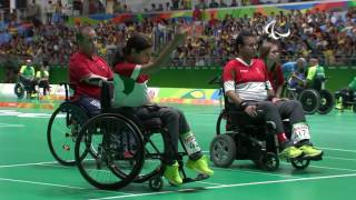 Download Day 4 morning | Boccia highlights | Rio 2016 Paralympic Games Video