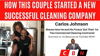 Download HOW THIS COUPLE STARTED THEIR CLEANING BUSINESS! - Carlos of Delozi Commercial Cleaning Interview Video