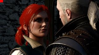 Download Witcher 3 Wild Hunt 1.10 patch Triss New Romance Cut scene(한국어자막) Video