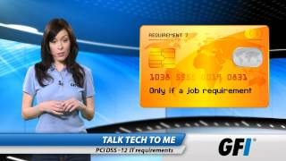 Download PCI DSS: Twelve IT requirements Video