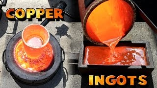 Download Making 5 Pound Copper Ingots From Scrap Video