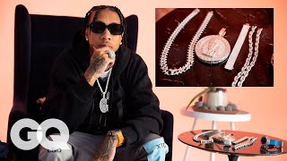 Download Tyga Shows Off His Insane Jewelry Collection   GQ Video