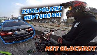 Download ZIVILPOLIZEI hupt uns an - mit Blackout - MotoVlog Video