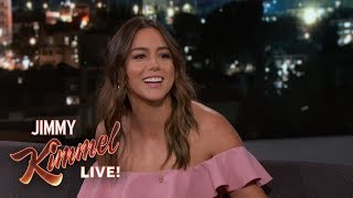 Download Chloe Bennet Played Saxophone in Middle School Video