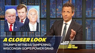 Download Trump's Witness Tampering; Wisconsin GOP's Power Grab: A Closer Look Video