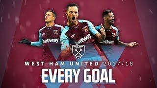 Download EVERY WEST HAM UNITED GOAL | 2017/18 Video