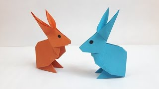 Download How to make a paper Rabbit? Video