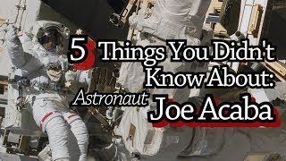 Download 5 Things You Didn't Know About Astronaut Joe Acaba Video