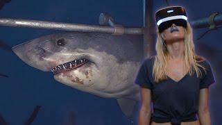 Download SHARK ALMOST EATS GIRLFRIEND   PlayStation VR Worlds (PSVR) Video