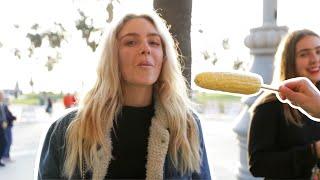 Download Feeding People Corn! Video