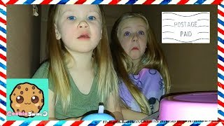 Download I Mailed Myself in a Box to Cookie Swirl C with Little Sister!!! Met Evan on Way to Ryan Toy Review Video