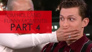 Download Tom Holland Funny Moments | Part 4 Video
