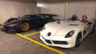 Download 30 Millions € d'HYPERCARS dans un parking en Suisse !! Video