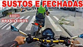 Download SUSTOS E FECHADAS DE MOTO (EP.01) Video