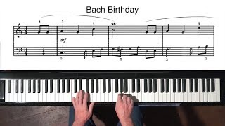 Download Happy Birthday Bach - 31st March 1685 - PIANO SOLO FREE SHEET MUSIC Video
