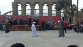 Download لعبة العصا او فن التحطيب فى معبد الاقصر روعه جدا Video
