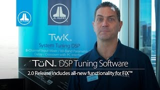 Download JL Audio TüN™ 2.0 Software for FiX™ and TwK™ DSP Products, NEW Feature Demonstration Video