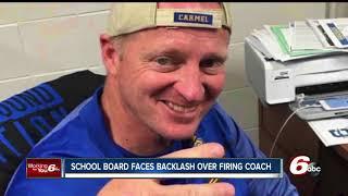 Download School board faces backlash over firing Carmel head basketball coach Video