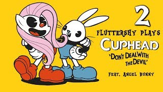 Download Fluttershy plays Cuphead [ALL BOSSES!] 🍉   w' Angel Bunny! Video