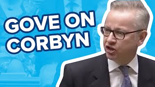 Download Michael Gove takes apart Jeremy Corbyn in Parliament speech Video