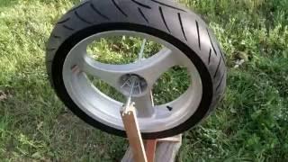 Download Wyważanie koła tylnego motocyklowego w BMW r1100RS Video