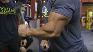 Download Big Arm Training with Victor Martinez and Chris Bumstead - Part 1 Video