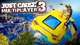 Download JUST CAUSE 3 Multiplayer Mod | Racing Sports Cars & Soap Box Derby!! Funny Moments & FAILS Video