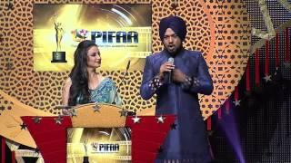 Download Divya Dutta and Gurpreet Ghuggi LIVE Performance - PIFAA - Punjabi International Film Academy Awards Video